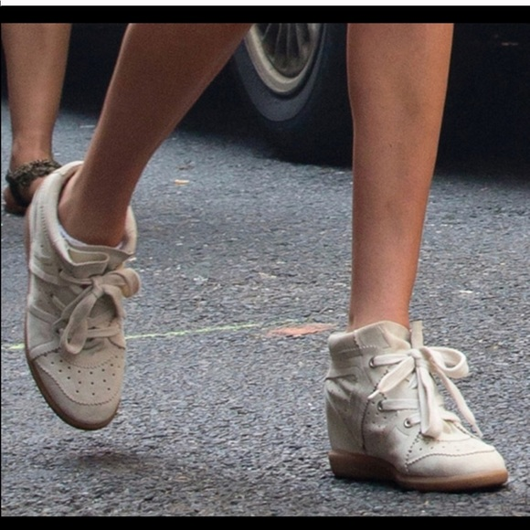 5ccdd1f81e Isabel Marant Shoes - 💋SALE💋Isabel Marant Bobby, Cream Leather & Suede